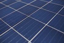 Full-Frame-Solar-Panels, erhöhten Blick — Stockfoto