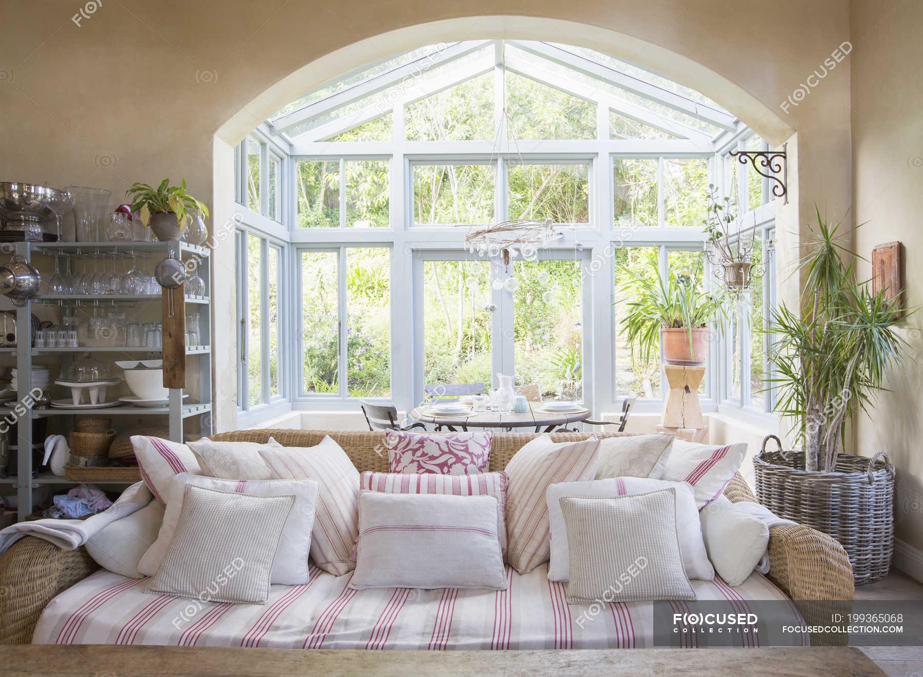 Shabby Chic Living Room And Sunroom, Shabby Chic Living Room