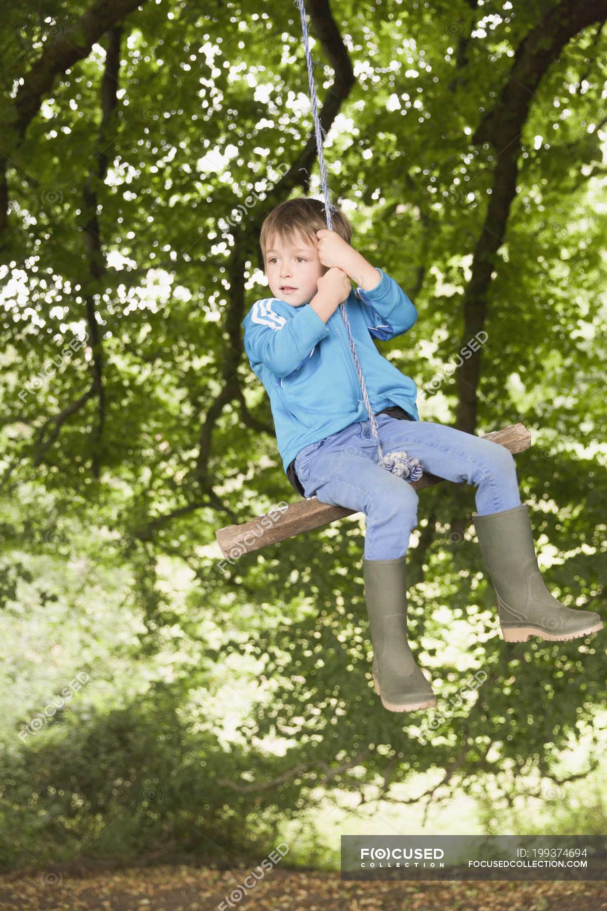Swing swinging tree topic has