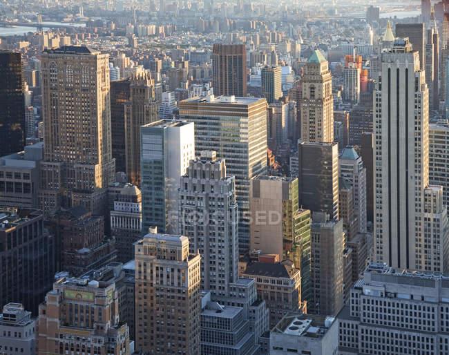 New York City skyline, New York, United States — Stock Photo