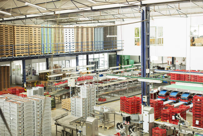 View of food processing plant — Stock Photo