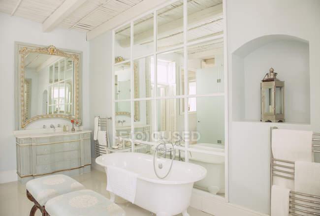 Sala Da Bagno Lusso : Vista all interno della stanza da bagno di lusso u la