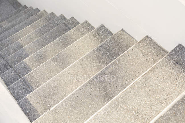 Low angle view of modern concrete stairs — Stock Photo