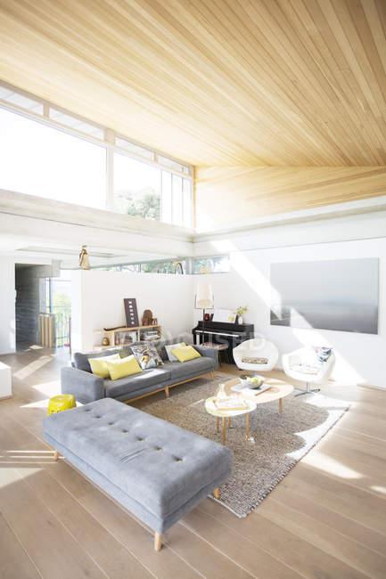 Modern home showcase living room — Stock Photo
