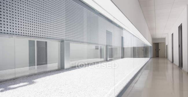 Modern office interior during daytime — Stock Photo