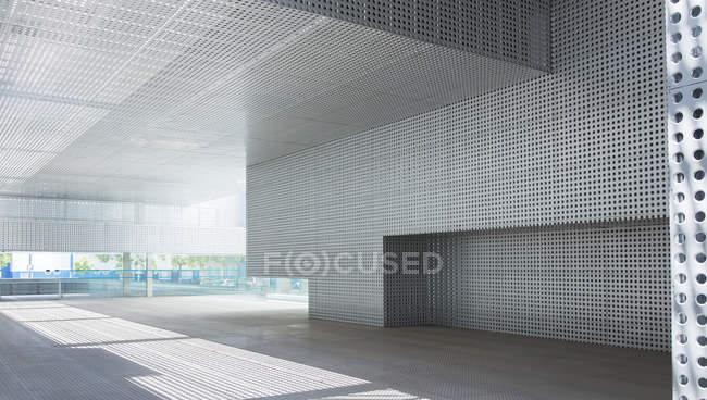 Modern building interior during daytime — Stock Photo