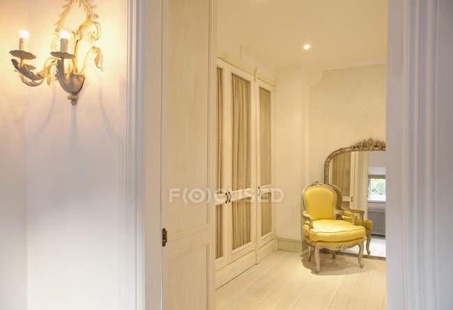 Exibição de luxo, área de estar — Fotografia de Stock