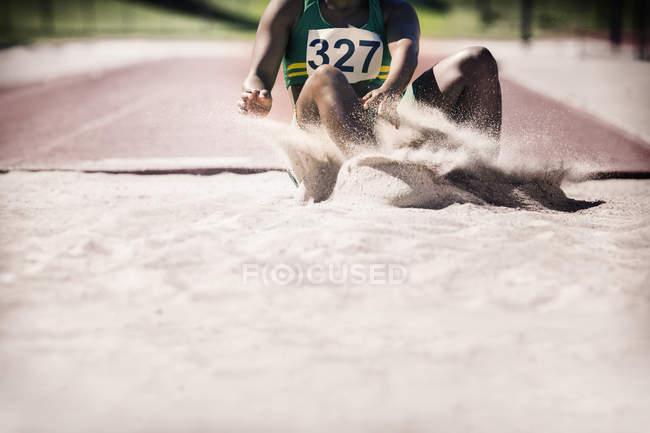 Прыгун в песок — стоковое фото
