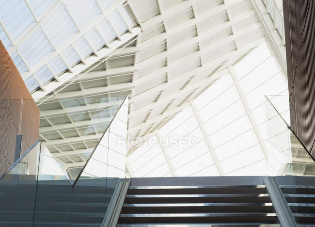 Staircase and ceiling of modern office — Stock Photo