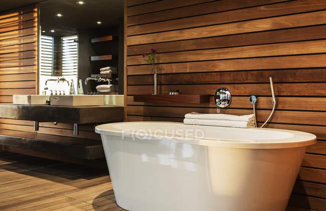 Vasca Da Bagno E Lavandino : Vasca da bagno e il lavandino in bagno moderno u2014 la progettazione