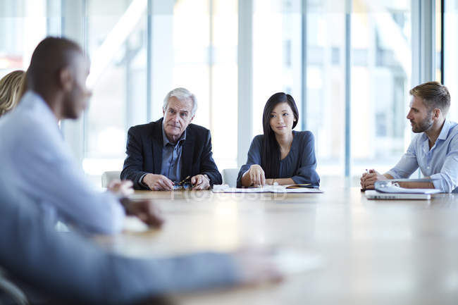 Business people meeting in conference room — Stock Photo