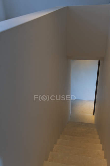 Staircase and doorway of modern house — Stock Photo