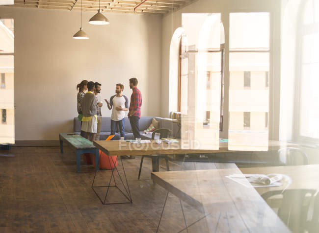 Creative business people meeting in office — Stock Photo