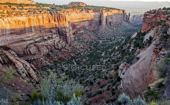 Canyon, Colorado National Monument, Colorado, Estados Unidos — Fotografia de Stock