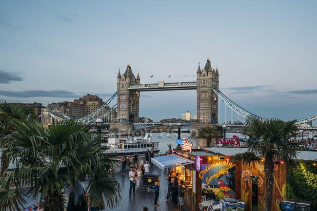 Tower Bridge, London, United Kingdom — Stock Photo