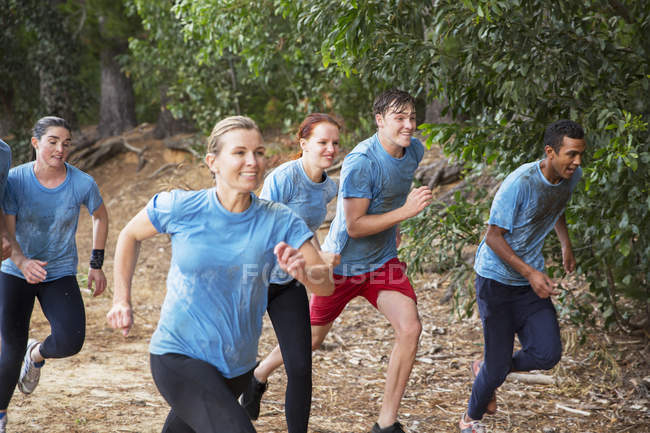 Adult camp running