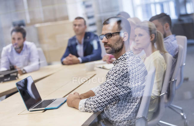 Super Business People Listening In Conference Room Meeting Home Interior And Landscaping Ponolsignezvosmurscom