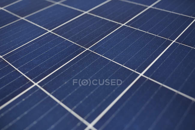 Повний кадр сонячних панелей, підвищені подання — стокове фото