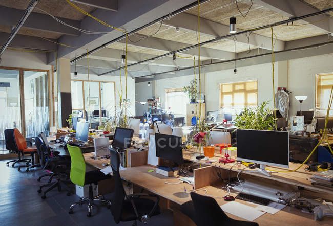 Creative anad modern open plan office — Stock Photo
