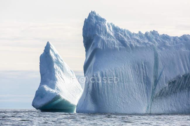 Majestosas formações de iceberg Groenlândia — Fotografia de Stock