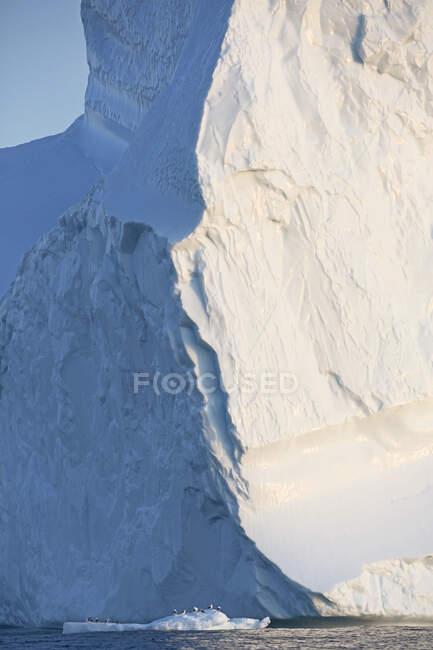 Majestosa formação iceberg Groenlândia — Fotografia de Stock