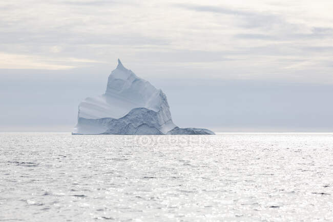 Majestic iceberg formation on Atlantic Ocean Greenland — Stock Photo
