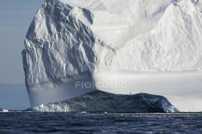 Majestic iceberg formation Greenland — Stock Photo