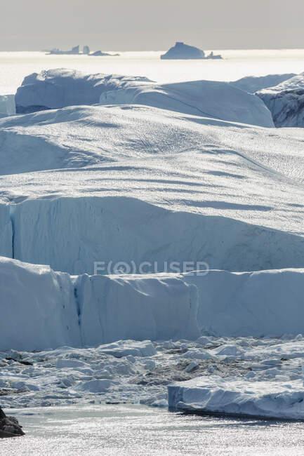 Derreter icebergs polares Groenlândia — Fotografia de Stock