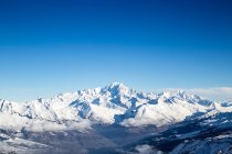 Aiguille Verte and the Mont Blanc Massif — Stock Photo