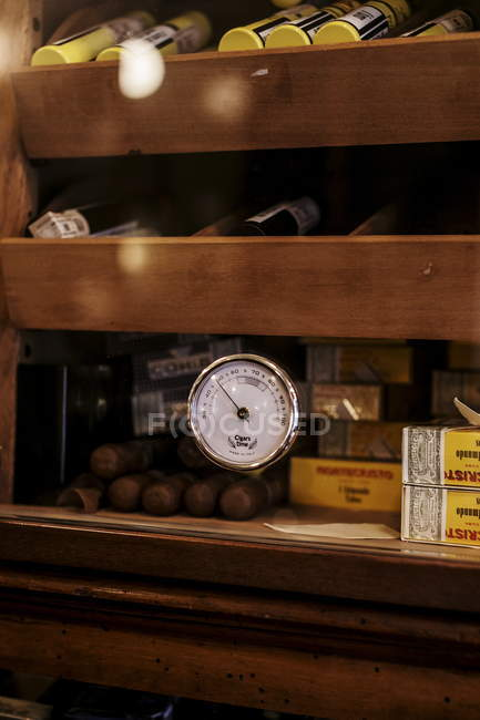17. Februar 2017. Mailand, Cafeteria da Giacomo. Zigarren-Etui — Stockfoto