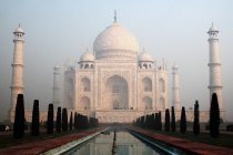 World cultural heritage, marble taj mahal in India — Stock Photo
