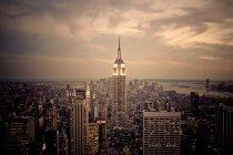 New York City, Manhattan, Empire State Building — Stockfoto