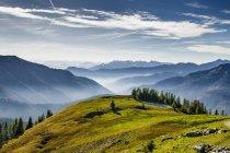 Gebirge, Mangfall Berge und Tal — Stockfoto