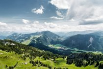 Europäische Gebirge Alpen Tal, Bayern, bayrischzell — Stockfoto