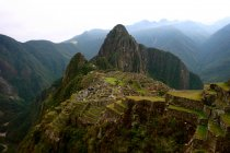Antiguas ruinas de Machu Picchu - foto de stock