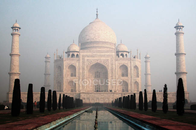 Weltkulturerbe, Marmor taj mahal in Indien — Stockfoto