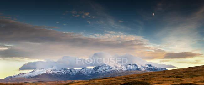 Горный хребет горы Cuillin — стоковое фото