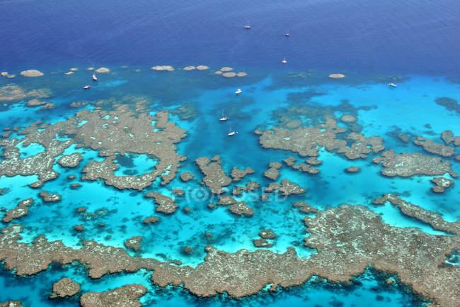 Grande barrière de corail d'Australie — Photo de stock
