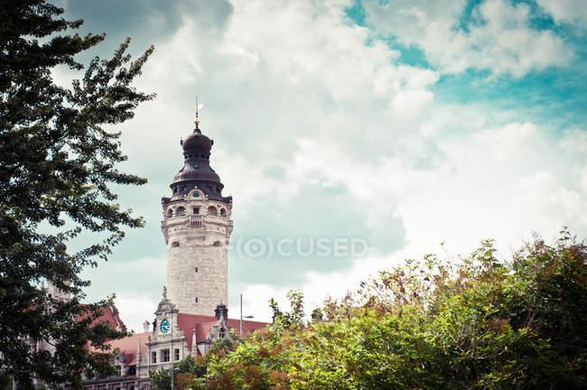 Ратуша в Лейпциге, Новая ратуша старого здания — стоковое фото