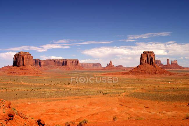 Каньйон в США, Долина монументів, штат Юта — стокове фото