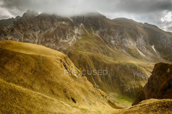 Italy mountain range dolomites, south tyrol national park — Stock Photo