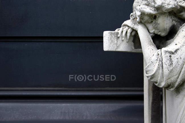 Hoffnung und Religion, Engel Statue Denkmal — Stockfoto
