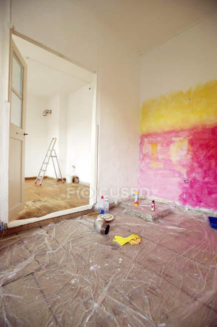 Сучасні апартаменти номери поновлення — стокове фото