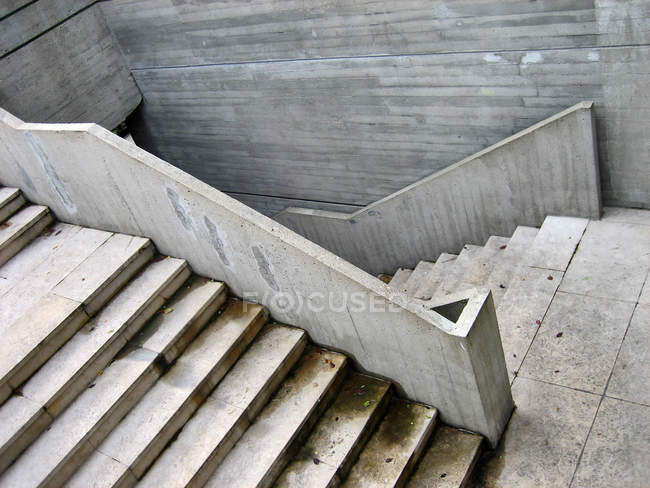 Betontreppe, Vollrahmen — Stockfoto
