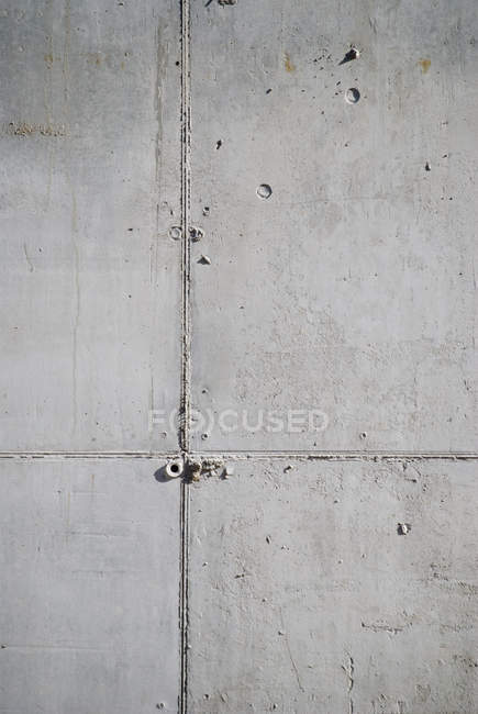 Grey concrete wall, full frame — Stock Photo