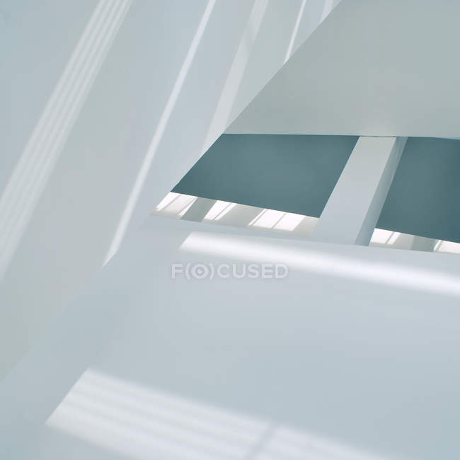 Light colors and shapes, interior architecture design — Stock Photo