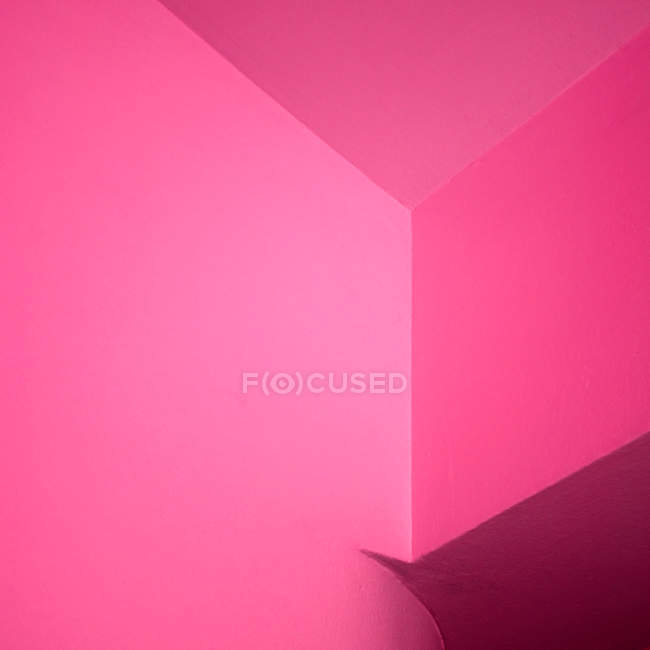 Pink rooms walls and corners, full frame — Stock Photo