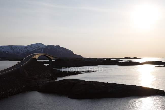 Atlantic Ocean Road, More og Romsdal — Photo de stock
