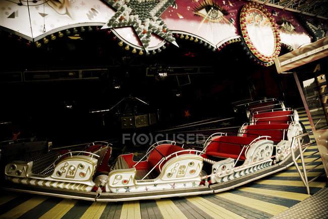 Parc d'attractions attraction, fête foraine — Photo de stock