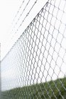 Wire fence against clear sky — Stock Photo
